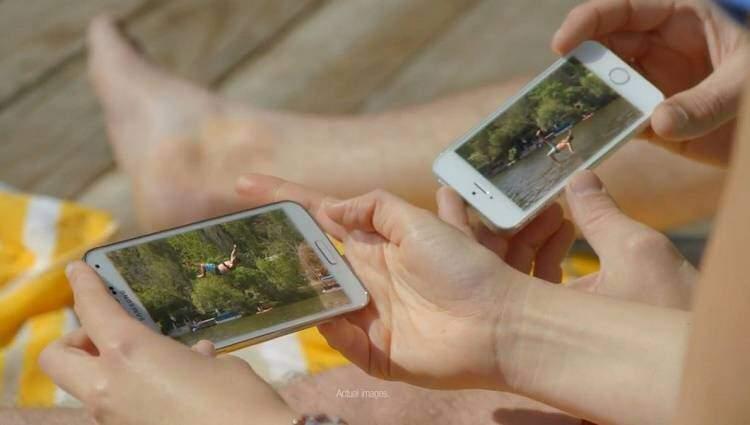 Samsung Galaxy S5: nuovo video promo, anche contro iPhone 5S