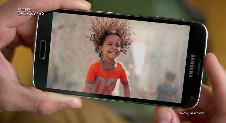 Samsung Galaxy S5: ecco il primo spot TV in Italiano