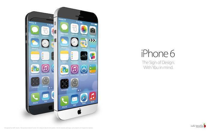 iPhone 6 : rumors sulle due differenti dimensioni del display