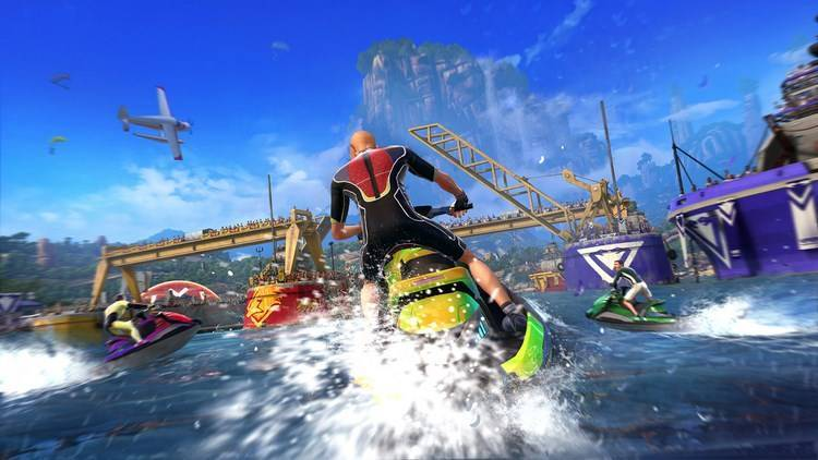 kinect sports rivals gare acquatiche