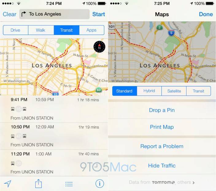 mappe ios 8