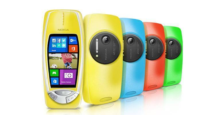 Nokia 3310 PureView: 41 megapixel e Windows Phone