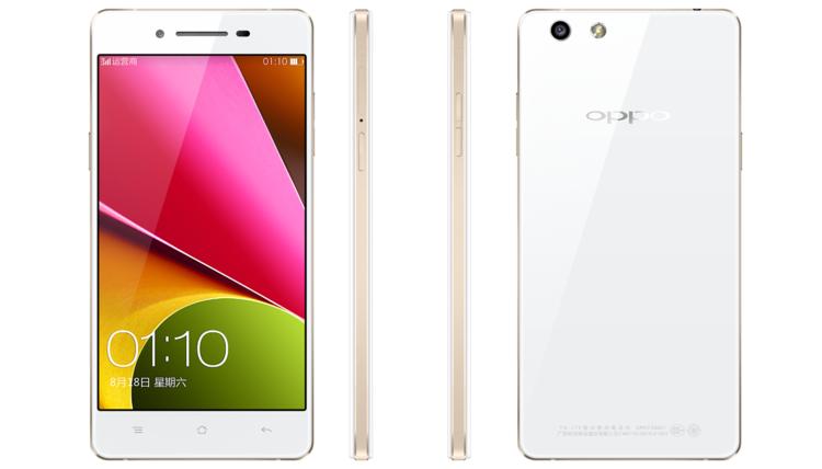 Oppo R1S, il device 5″ con Snapdragon 400 e fotocamera 13 MP