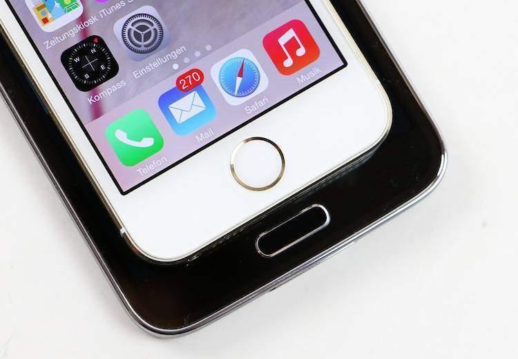 iPhone 5S e Galaxy S5 si sfidano a colpi di lettori di impronte