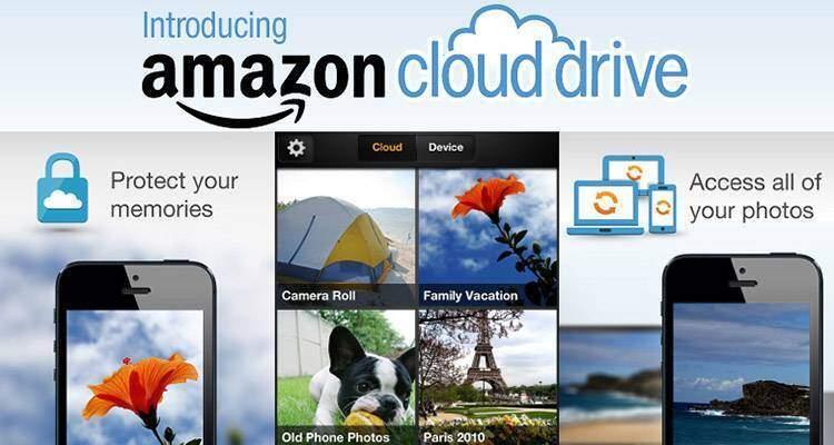 Amazon Cloud Drive Photos aggiornato per iOS