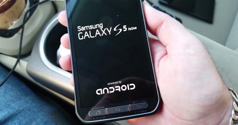 Galaxy S5 Active: stabilizzatore ottico e display da 5.2 pollici?