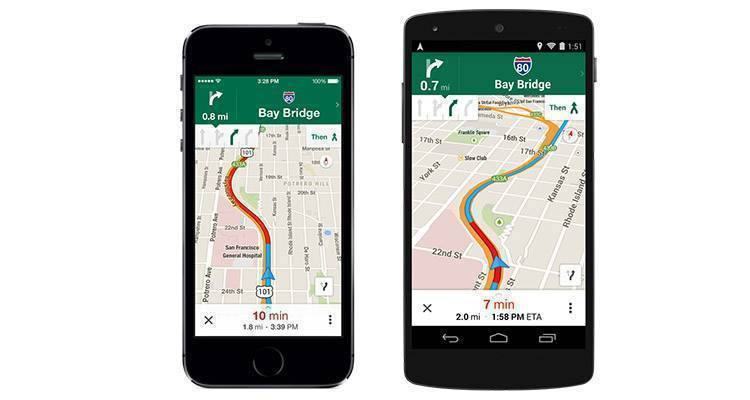 Google Maps iOS e Android