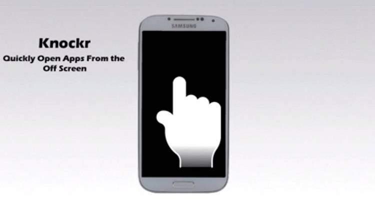 Knockr: sblocca lo smartphone con un doppio tap tramite un'app gratuita!