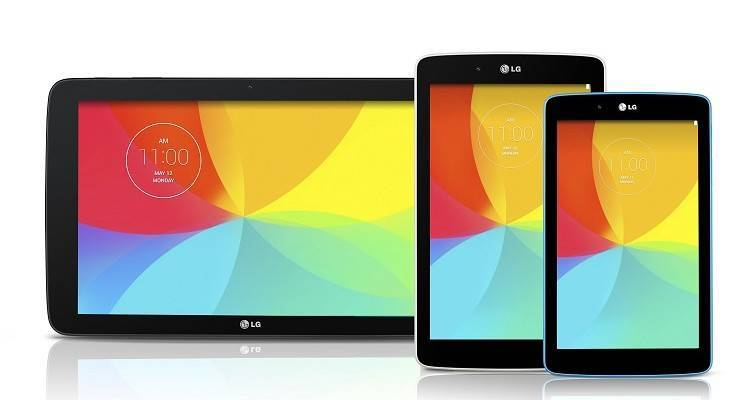 Immagine promozionale LG G Pad 7, 8 e 10