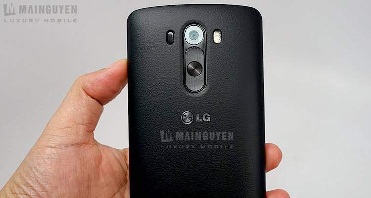 LG G3: fotocamera rapidissima nella messa a fuoco grazie al laser