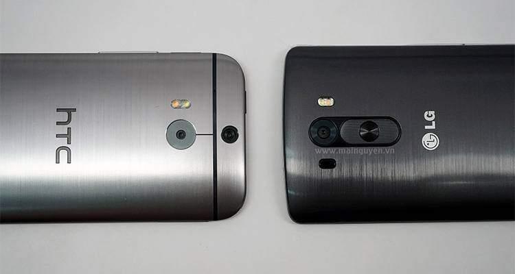 LG G3: confronto fotografico con HTC One (M8)