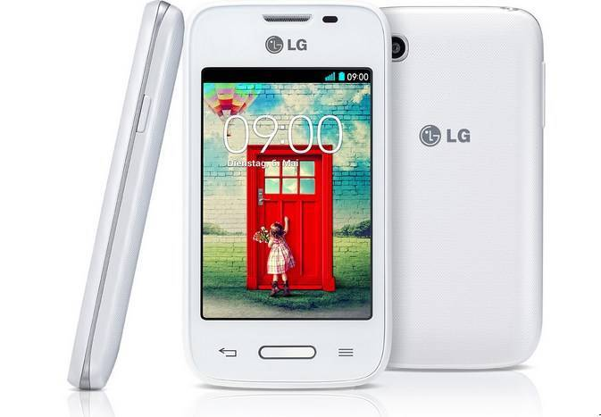 LG L35 white