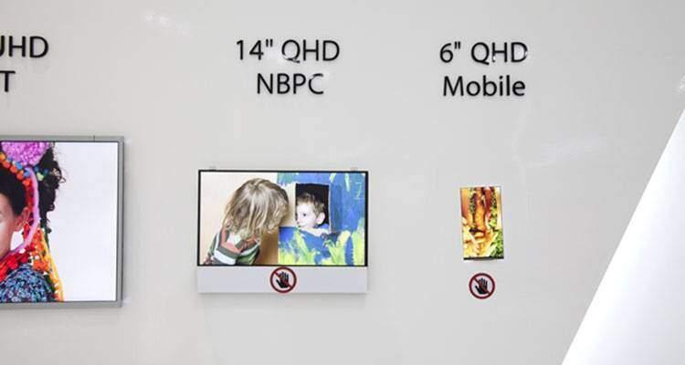 LG: presto un display da 6 pollici Quad HD, si punta ai 700ppi