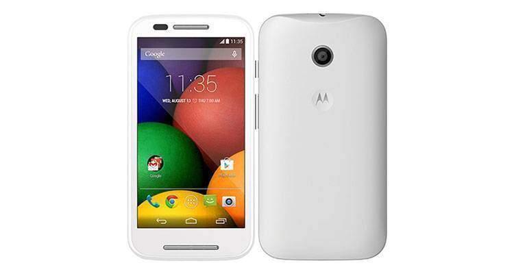 Motorola Moto E bianco