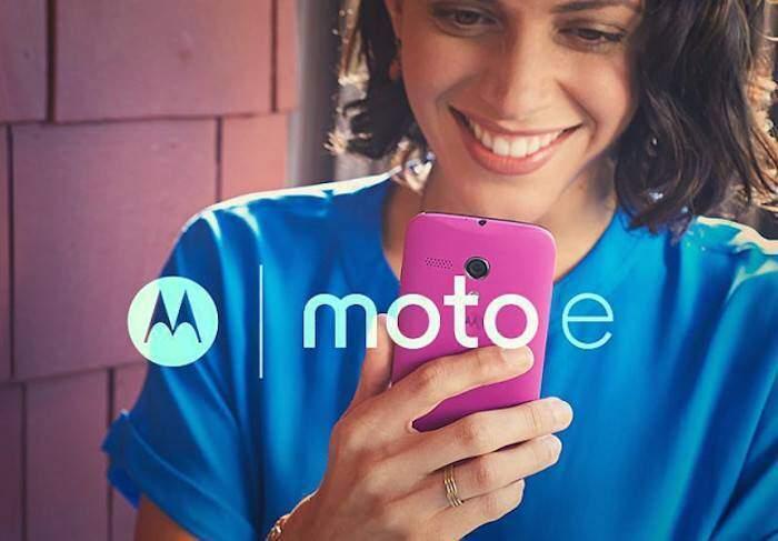 Moto E: prima immagine accanto al cugino Moto G
