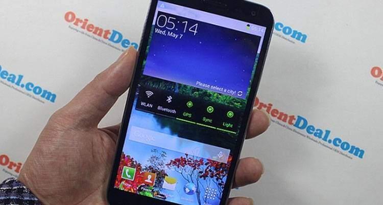 OrientPhone S5, economico clone di Galaxy S5