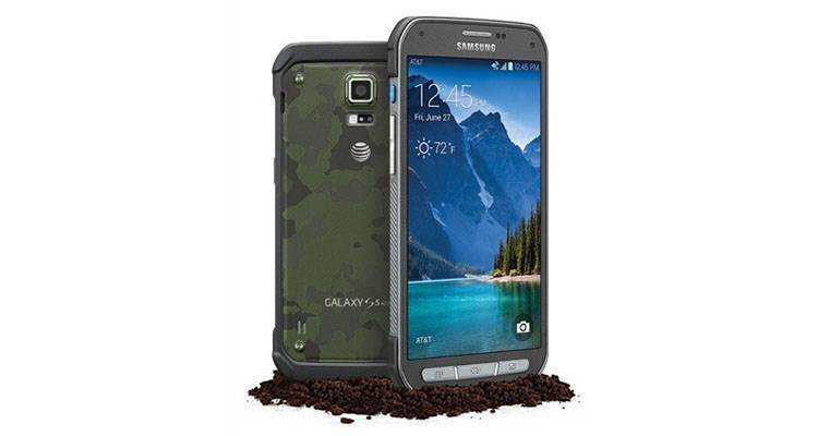 Samsung Galaxy S5 Active rugged
