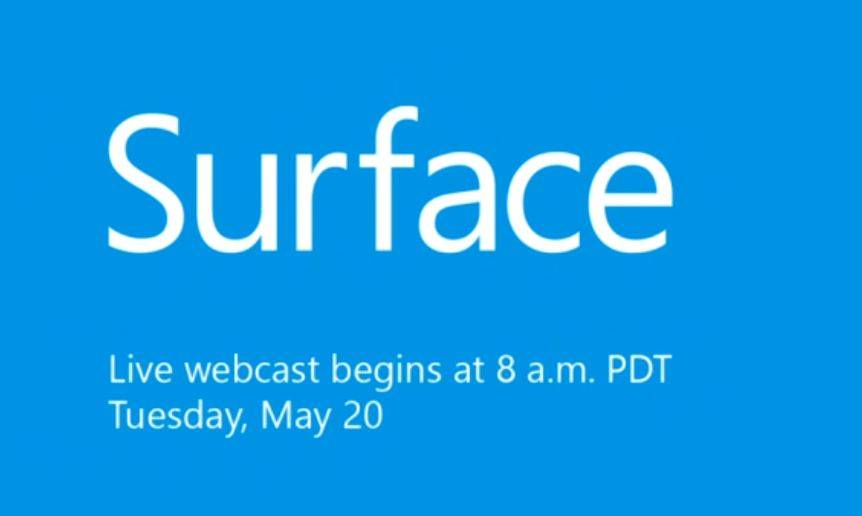 Microsoft Surface: evento livestreaming di presentazione Surface Pro 3 (e Surface Mini?!?!)