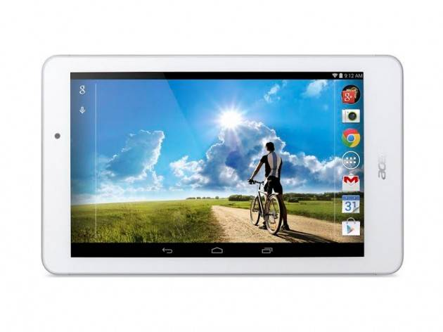 Acer Iconia Tab 8: un tablet Android FullHD a 199€ con CPU quad core Intel Atom