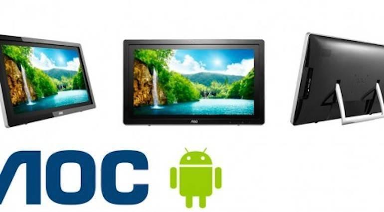 AOC: soluzioni all-in-one con a bordo Android 4.0 ICS