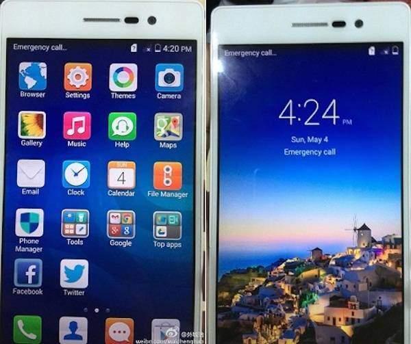 Huawei Ascend P7 si mostra in nuove immagini