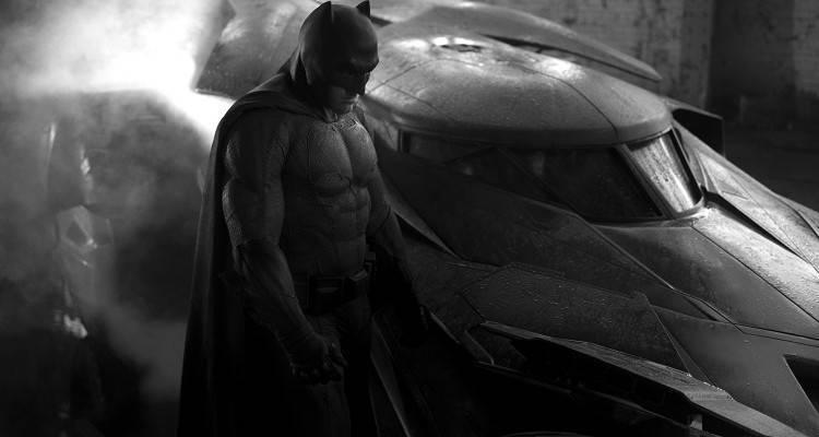 Prima fotografia dal vivo di Ben Affleck nei panni di Batman