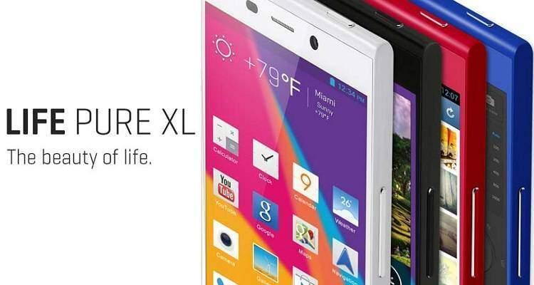 Life Pure XL, nuovo top gamma con Snapdragon 800 e 3GB di RAM