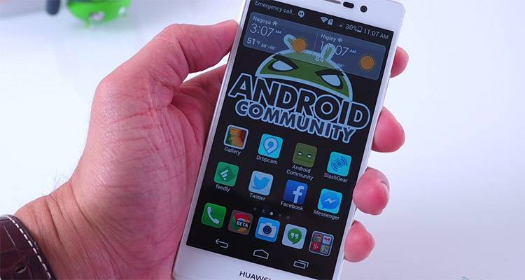 huawei ascend p7 hands-on