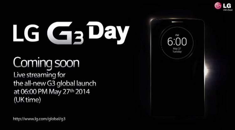 LG G3: la presentazione ufficiale in live streaming su Webtrek.it