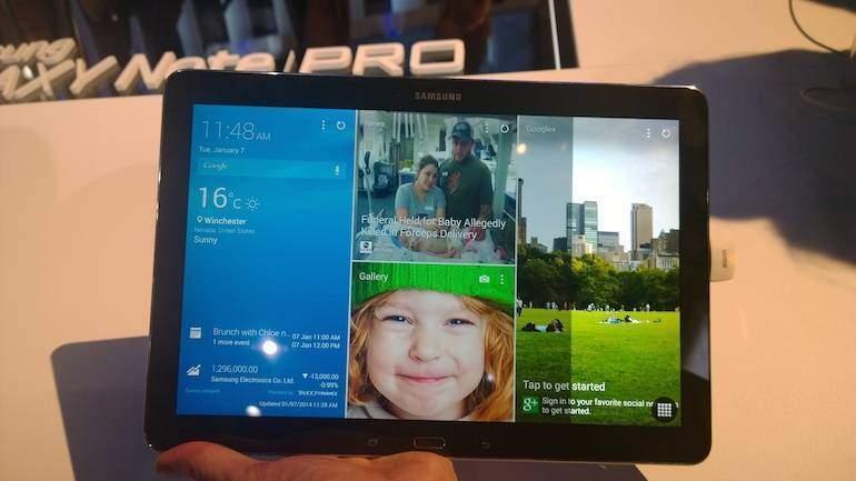Galaxy Tab PRO: tecnologia IXONOS per il multitasking intelligente