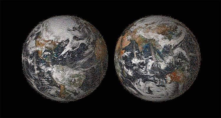 selfie globale terra