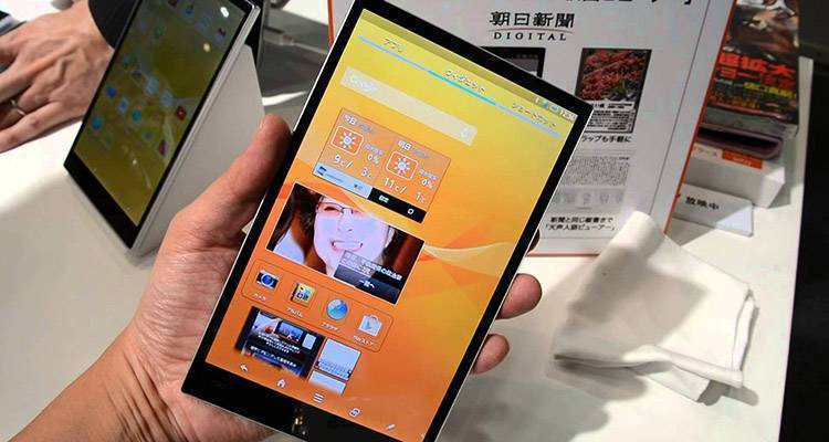 Sharp, in arrivo display da 600 PPI per smartphone e tablet