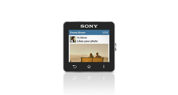 sony smartwatch 2 instagram feed