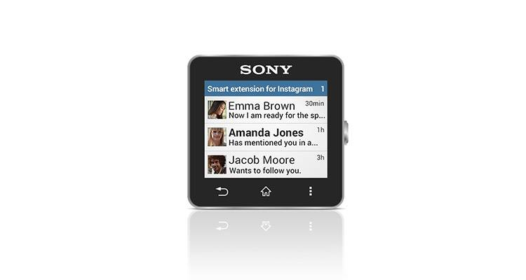 sony smartwatch 2 instagram