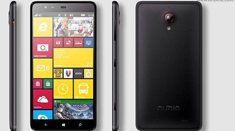 ZTE Nubia W5, smartphone Windows Phone con Snapdragon 801?