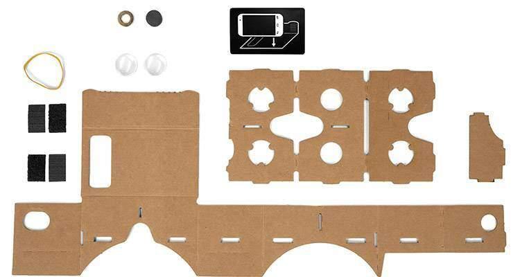 Google Cardboard istruzioni