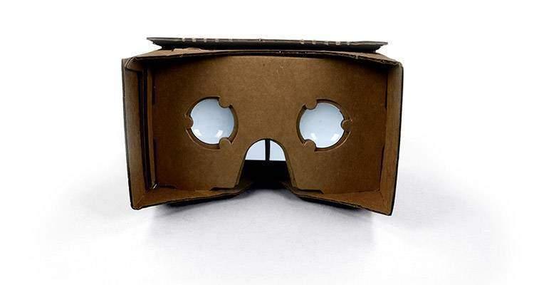 Google Cardboard, la realtà virtuale fatta in casa