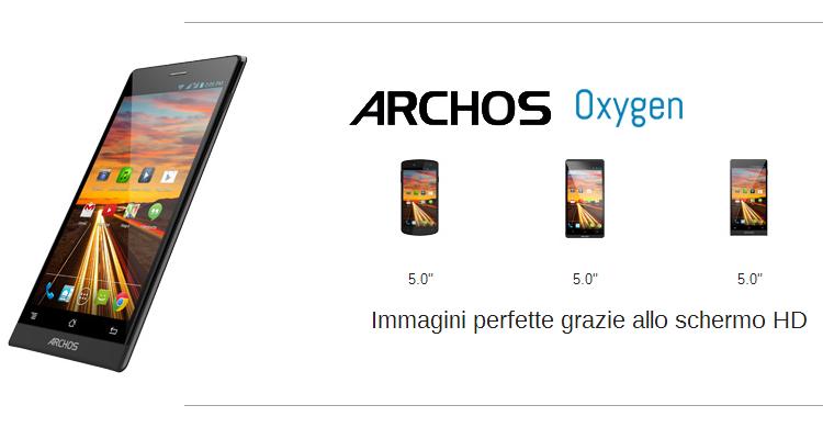 Archos Oxygen 50B e 50C, due nuovi smartphone da 199€