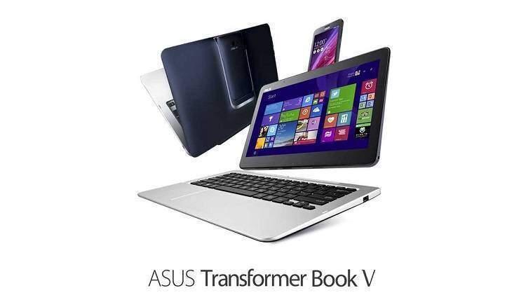 ASUS Transformer Book V: il primo device 5 in 1 Windows 8.1 e Android