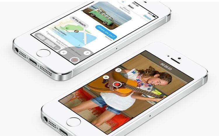 iOS 8 messaggi