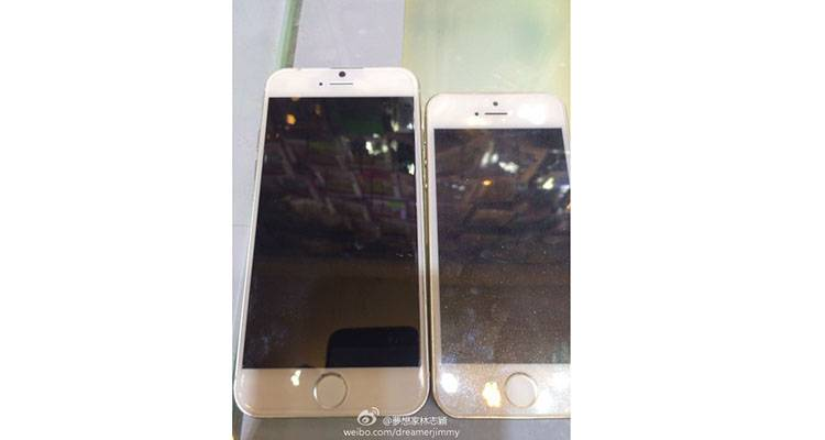 iPhone 6, nuove foto confronto con iPhone 5S