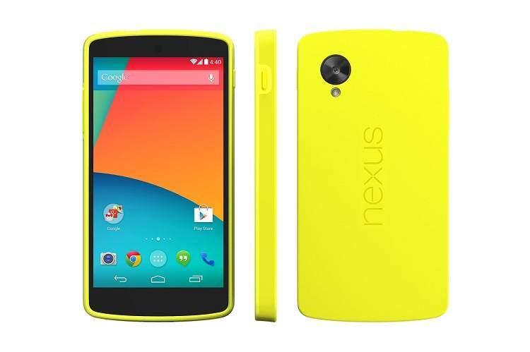 Nexus 5 color giallo in arrivo e praticamente ufficializzato da Google