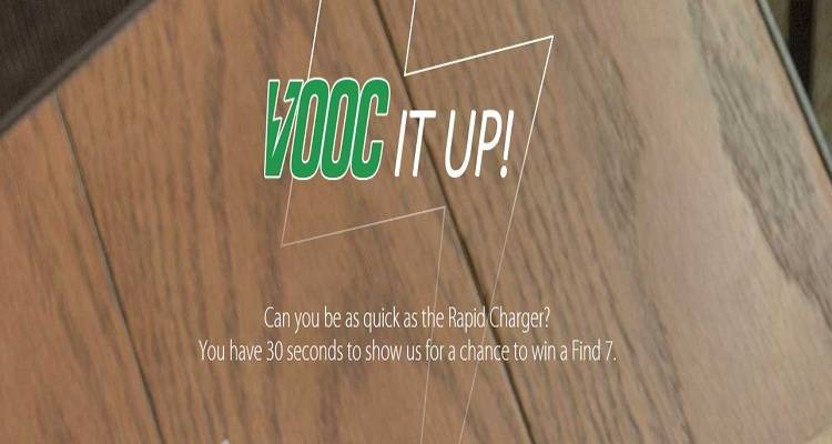 VOOC It Up: il concorso per vincere Oppo Find 7!