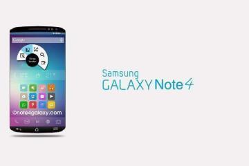 Immagine del Samsung Galaxy Note 4