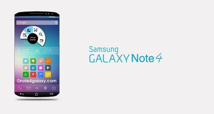 Immagine del Samsung Galaxy Note 4