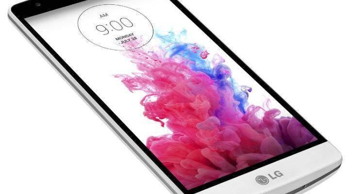 Immagine promozionale LG G3 S