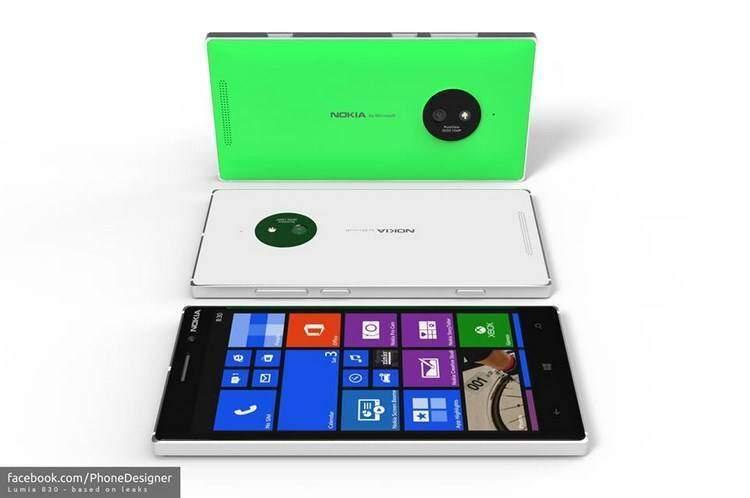Nokia Lumia 830 immagini