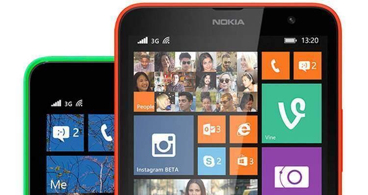 Nokia Lumia Cyan
