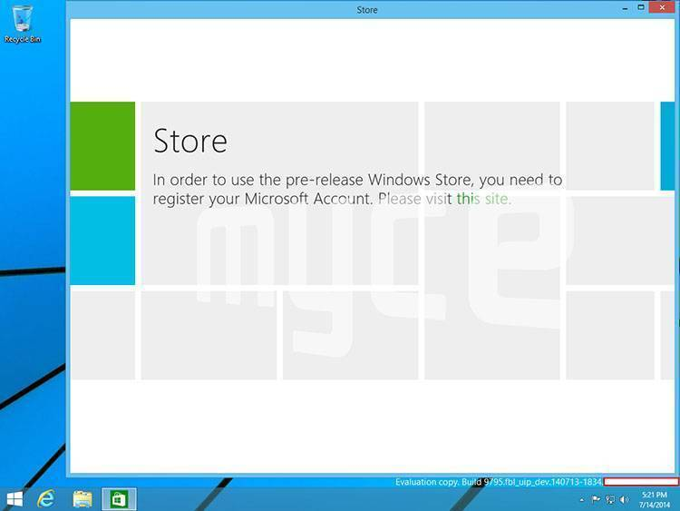 Windows 9 App Metro