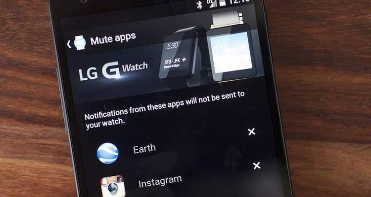 Android Wear permette di bloccare le notifiche